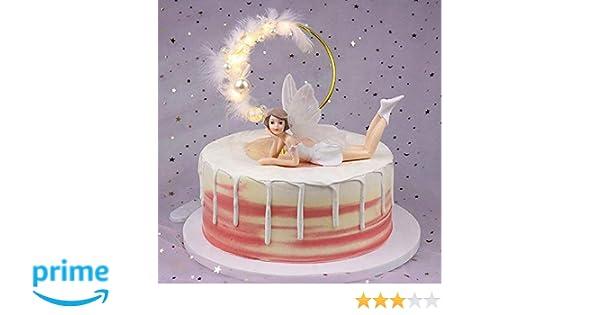 Fairy Themed Birthday Cake Topper Large Cake Fairies ...