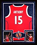 Carmelo Anthony Framed Jersey Signed Steiner COA Autographed Syracuse New York Knicks