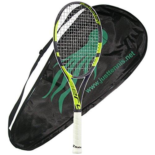 Babolat 2016-2018 Pure Aero Team Tennis Racquet - AeroPro Team - STRUNG with COVER (Team Tennis Racket)