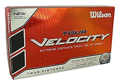 Wilson Golf Tour Velocity Tour Distance Golf Balls