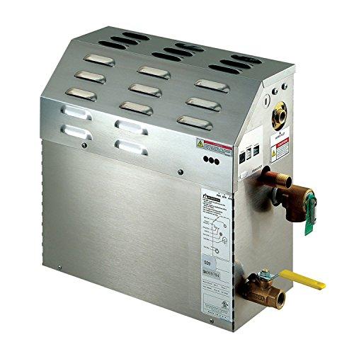 Mr. Steam MS150EC1 eTempo 6 Kilowatt, 240-Volt Steambath Generator Only by Mr. Steam