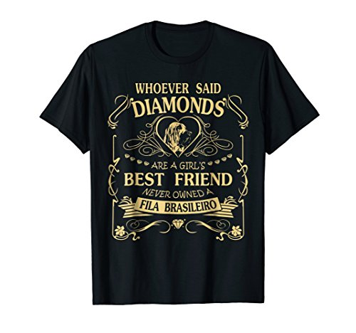 I love my Fila Brasileiro than diamond Cute Gift Shirt -
