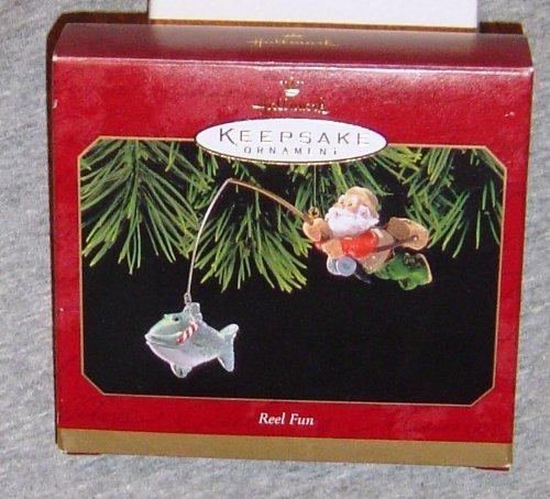 Hallmark Keepsake Ornament Reel Fun Dated 1999