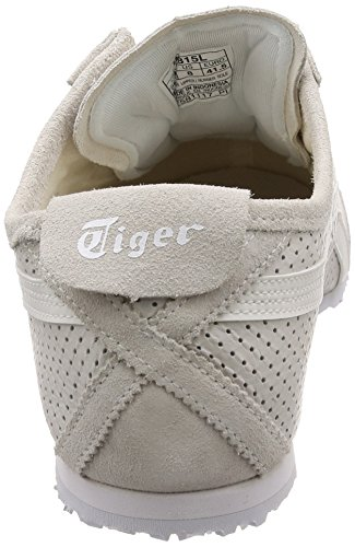 Onitsuka Blanc Slip Asics white 66 Tiger white on Mexico Baskets 0101 Mixte Adulte gdnA6xwqnz