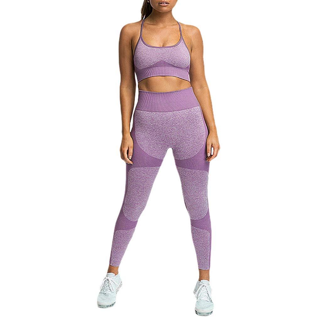 Mxssi Neue Heiße Damen Sexy Patchwork Yoga Anzug Workout Sport String Weste Hosen Athletic Sets Laufbekleidung Fitness