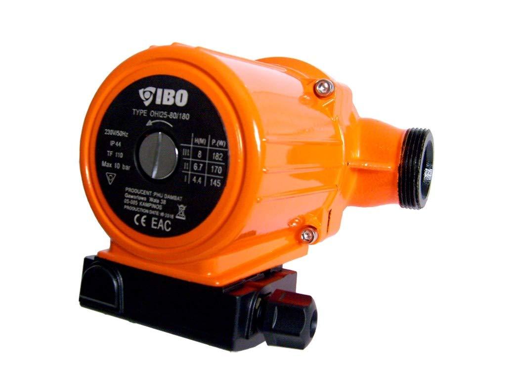 Umw/älzpumpe Heizungspumpe IBO 25-60//180 Pumpe Warmwasser Heizung Nassl/äufer NEU