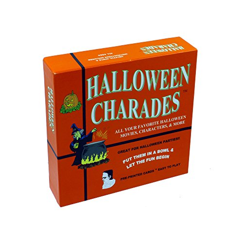 Classic Halloween Characters (Halloween Charades - the perfect Halloween Party Game - This Original Charades Game has characters like Count Dracula and more from your favorite Halloween Horror Movies and Halloween TV Shows!)