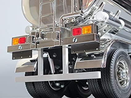 Amazon com: Aluminum Rear Bumper for Tamiya RC 1/14 Semi