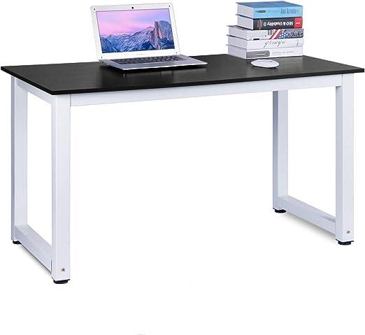 Büro 100 x 50 x 75,5 cm Weiß Schreibtisch Esstisch Arbeitstisch Computertisch