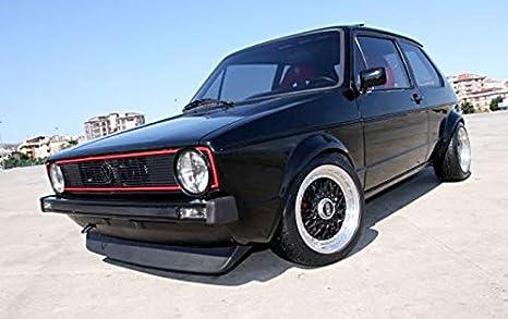 Front Spoiler Lippe Frontansatz Höhe 11 5cm 2 Teilig Auto