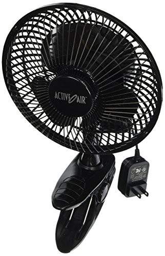 Quiet Brushless Clip Fan, 6