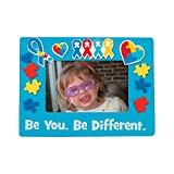 Autism Awareness Picture Frame Craft KIt