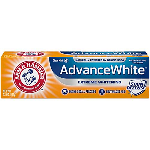 Arm & Hammer Advance White Extreme Whitening Toothpaste, 4.3 oz (Pack of 6)