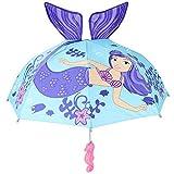 Kids Mermaid Umbrella Child's Size 30'' (Mermaid)