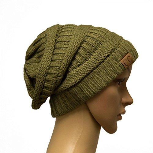 Blue Monogram Tropic - Olive_Winter Hat Cap Fashion Cap- outdoor skiing (US Seller)