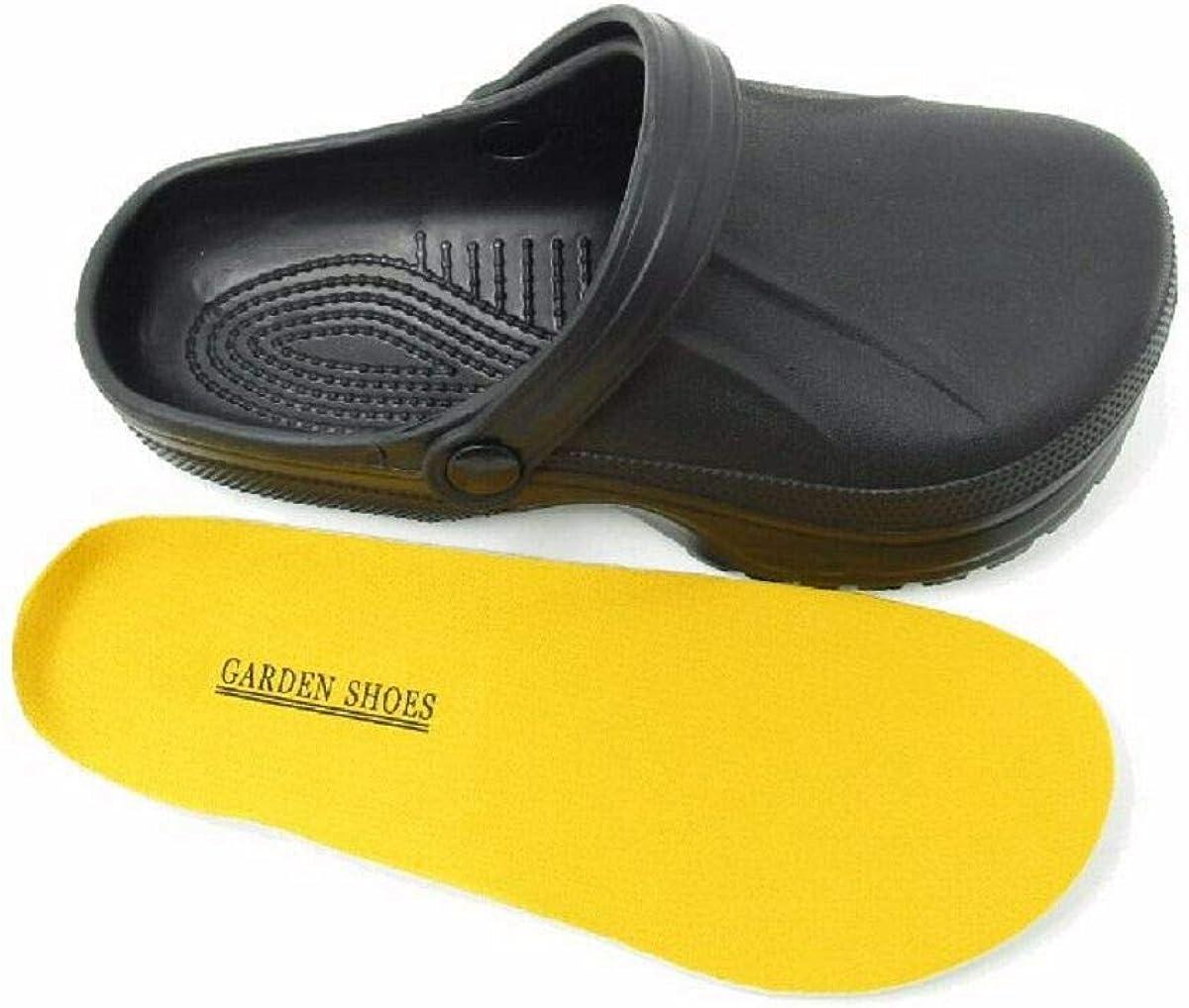 Mens Beach Chef Kitchen Garden Nurse Holiday Clogs Sandals Mules Sizes UK 7 8 9 10 11
