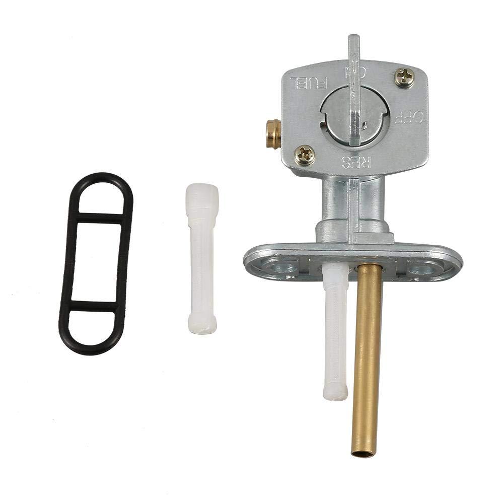 Combustible de la v/álvula Petcock Interruptor de la v/álvula Gas combustible Petcock 1986-2004 para KLF300