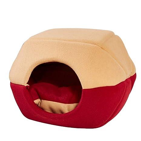 LouisaYork Soft Nido para Mascotas, Caliente Cubierta Suave del Gato del Perro de Perrito Sofa