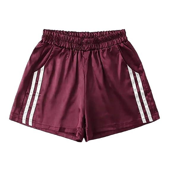 Pantalones Mujer Cortos Deporte Verano Yoga Running PAOLIAN ...
