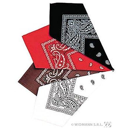 Bandana 55cm 4 Colours Bandana Hats Caps /& Headwear for Fancy Dress Costumes  Accessory