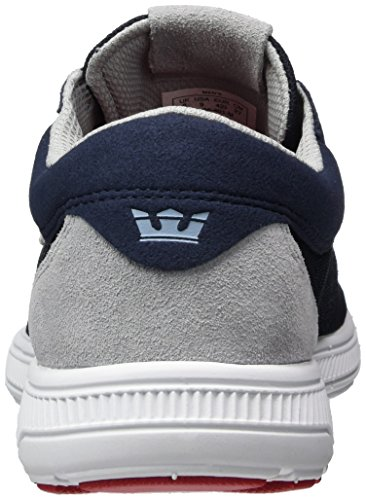 Blau Shoe Navy white Run Skate Supra Men's Hammer BwqSSp