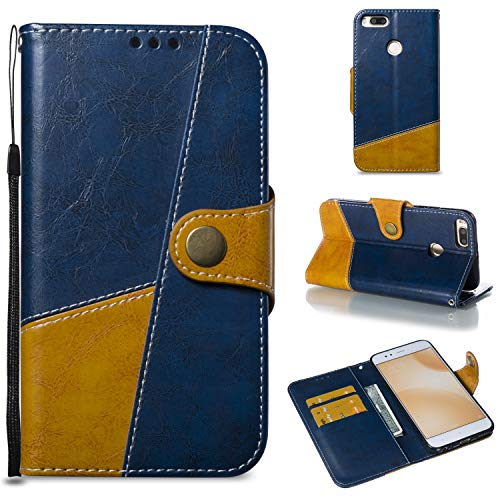 Price comparison product image HHF Phone Accessories for Xiaomi Redmi 5X Magnetic Clasp Mix and matach Style PU Leather Wallet Case with Card Slots