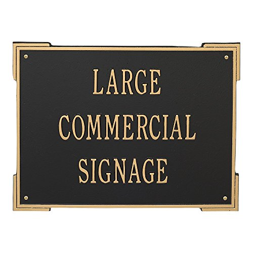 Custom Extra Large Roanoke Horizontal Commercial Wall Plaque 19