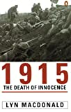 1915: The Death of Innocence by Lyn MacDonald front cover