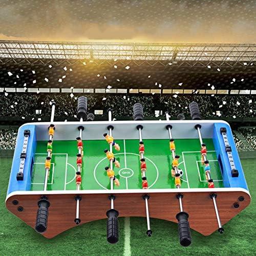 Zerodis Juego de Mesa de fútbol de Mesa, Juego de Mesa de futbolín portátil para 6 Jugadores de fútbol Multiusos de 6 Barras para Adultos y niños (Futbolín de 6 cañas): Amazon.es: Juguetes
