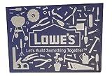 Gift Card Holder Lowe's Box