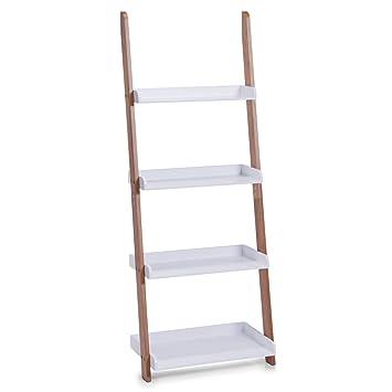 zeller estantera tipo escalera con repisas x x cm