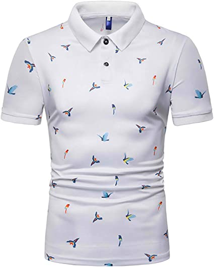 G&Armanis shop Polo Slim de Verano, Elegante Camisa de Manga Corta ...