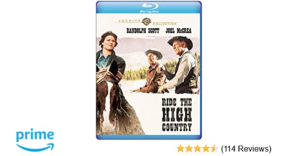 ride the high country movie location