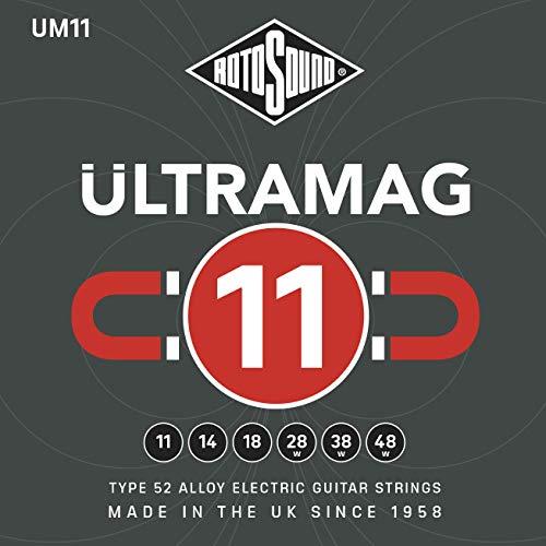 RotoSound 6 String Electric Guitar Pack, ambidextrous (UM11)