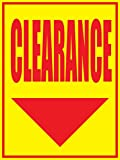 Clearance 18''x24'' Store Business Retail Promotion Signs