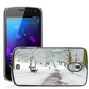 Etui Housse Coque de Protection Cover Rigide pour // M00152670 Rama Nevado Nevado Nieve Estaciones // Samsung Galaxy Nexus GT-i9250 i9250