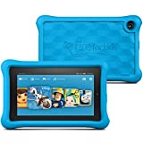 Fire Kids Edition Tablet, 7' Display, Wi-Fi, 16 GB, Blue Kid-Proof Case (Previous Generation)