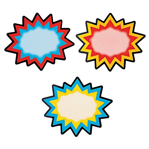Coated Paper Superhero Erase Magnets