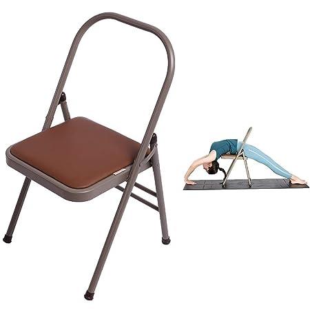 Sillón de yoga, Silla de yoga, Doblador de respaldo, Silla ...