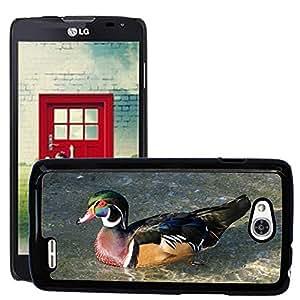 GoGoMobile Slim Protector Hard Shell Cover Case // M00119136 Male Wood Duck Waterfowl Bird // LG Optimus L90 D415