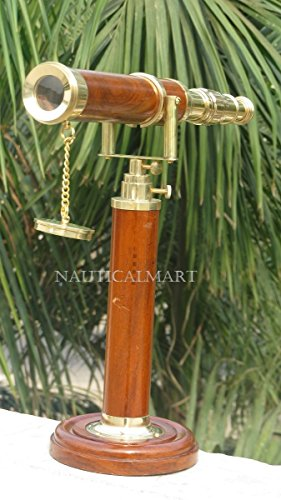 NAUTICALMART NM60256 Galileo Decorative Tabletop Telescope by NAUTICALMART