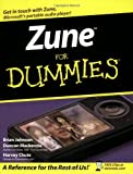 Zune for Dummies, Brian Johnson and Harvey Chute, 0470120452