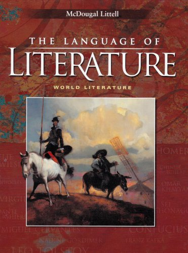 The Language of Literature: World Literature (McDougal Littell Language of Literature) by Brand: MCDOUGAL LITTEL