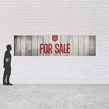 16x4 for Sale Nautical Wood Heavy-Duty Outdoor Vinyl Banner CGSignLab