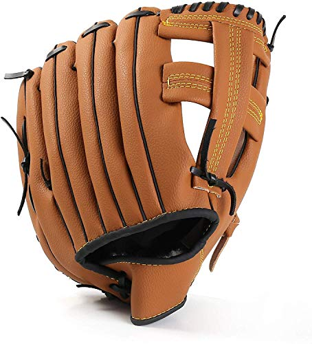 Unihoh Outfield Gloves Baseball Glove Softball Gloves - Right Hand Throw - Adult and Youth Sizes - 12,5in Size Mitts - Easy Break in Baseball Mitt