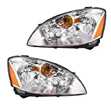 2004 altima headlight assembly - Driver and Passenger Halogen Headlights Headlamps Replacement for Nissan 260603Z626 260103Z626