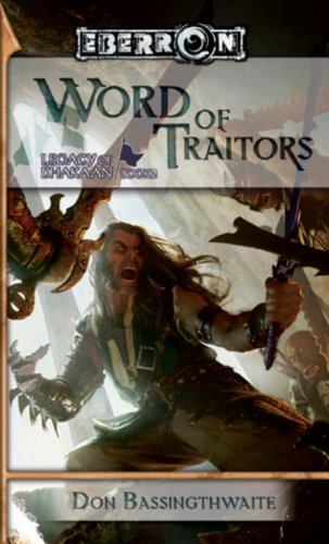 book cover of Word of Traitors