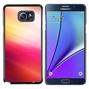 YiPhone /// Prima de resorte delgada de la cubierta del caso de Shell Armor - Pink Tones - Samsung Galaxy Note 5 5th N9200