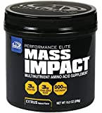 Mass Impact Amino Acid Creatine Mix for Bigger Muscle Mass, 20 Servings, Citrus