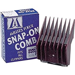 Millers Forge Original Snap-On Clipper Comb, Size-1-1/2, 1/2-Inch Cut